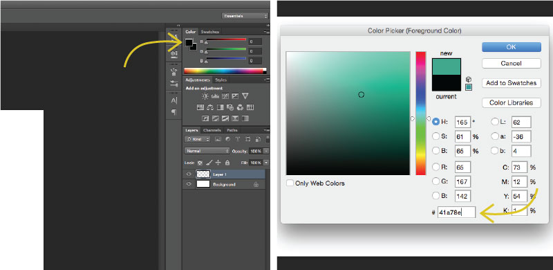 watercolor text effect_step6