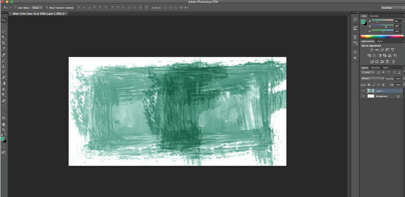 watercolor text effect_step7