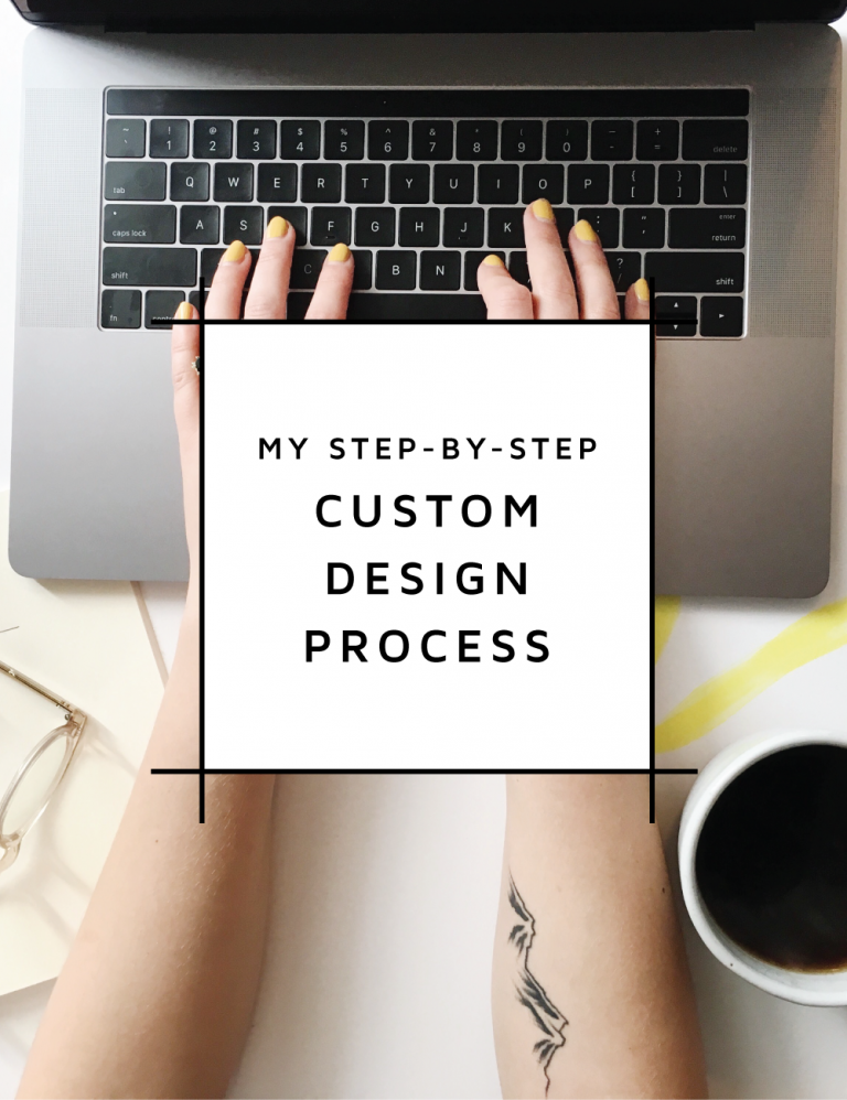 My website design process explained step-by-step