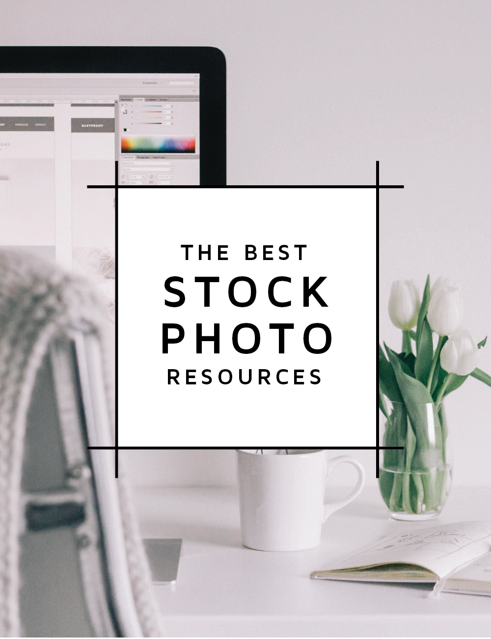 A blog post about the best stock photo resources