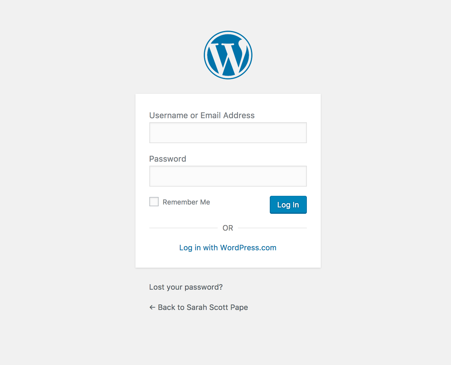 Learn how to make a WordPress Blog and login to your WordPress backend