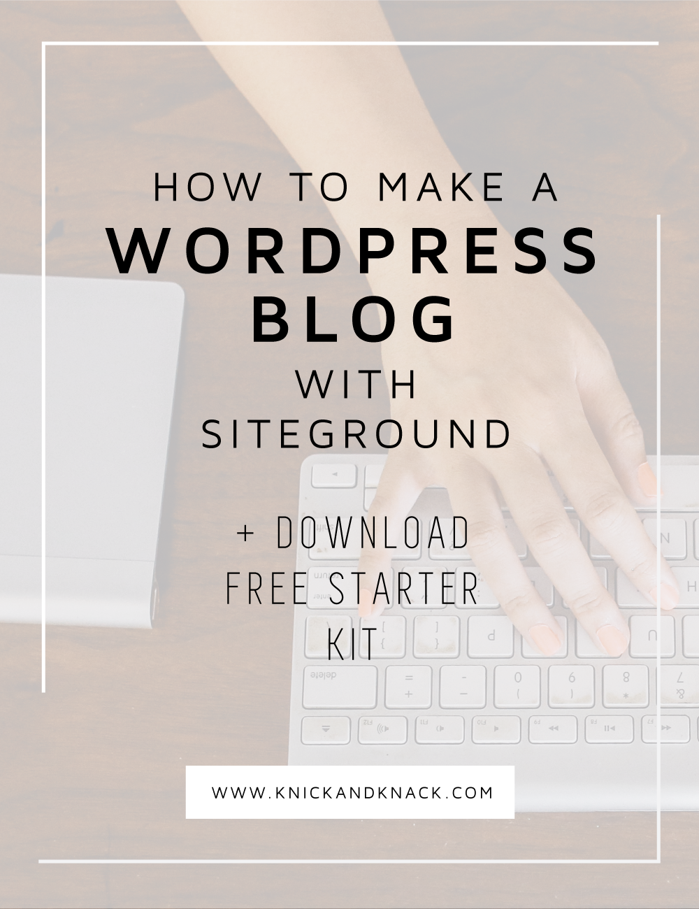 Learn how to make a WordPress blog with Siteground in this post